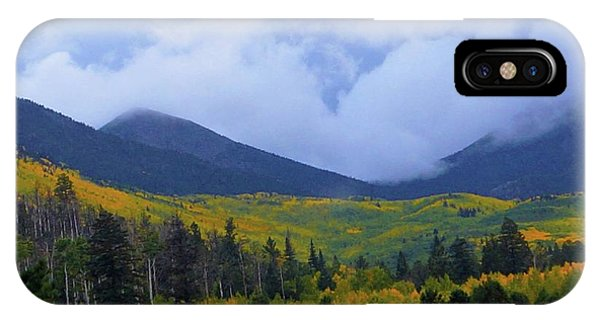 IPhone Case featuring the photograph Mountain Majesty by Broderick Delaney