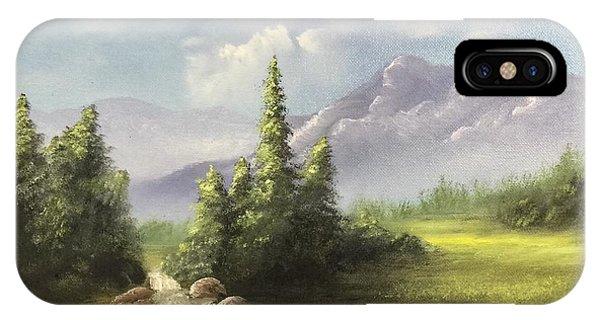 Mountain Meadow IPhone Case