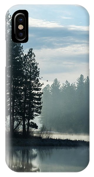 Mountain Meadows Reservoir At Dawn IPhone Case