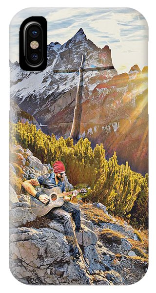 Mountain Of The Lord IPhone Case