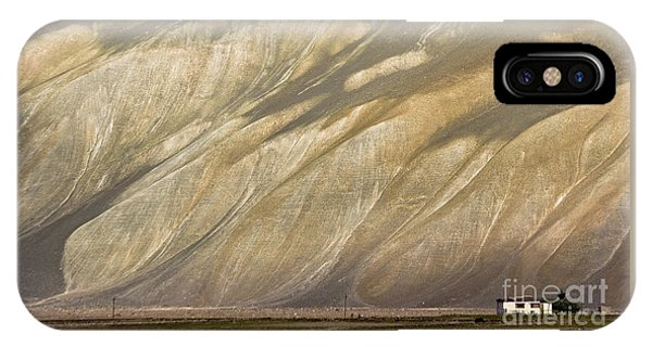 IPhone Case featuring the photograph Mountain Patterns, Padum, 2006 by Hitendra SINKAR