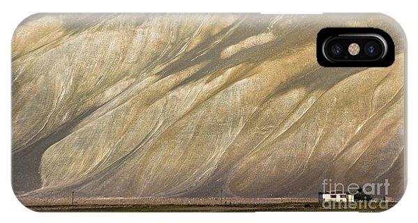 Mountain Patterns, Padum, 2006 IPhone Case