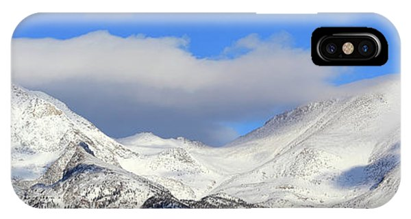 Mountain Peaks - Panorama IPhone Case
