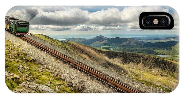 Sleeper iPhone Case - Mountain Railway by Adrian Evans