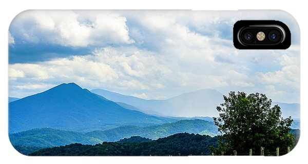 Mountain Rain IPhone Case