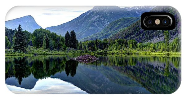 Elk Mountain Reflections IPhone Case
