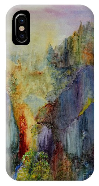 Mountain Scene IPhone Case