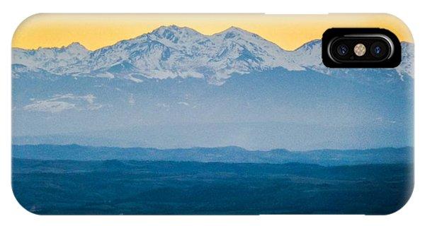 Mountain Scenery 7 IPhone Case