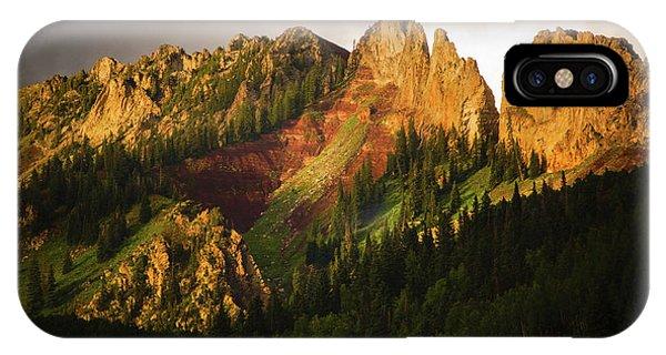 Mountain Storm Light IPhone Case