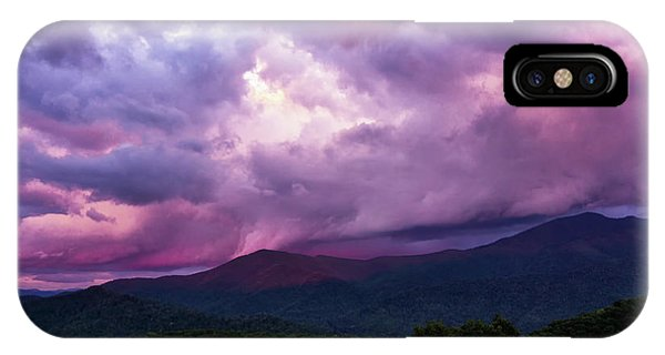 Mountain Sunset In The East IPhone Case
