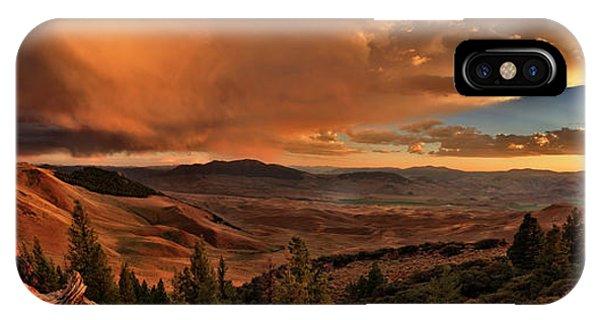 Mountain Sunset IPhone Case