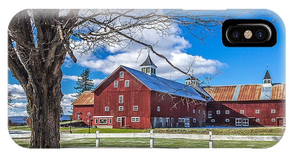 Mountain View Barn IPhone Case