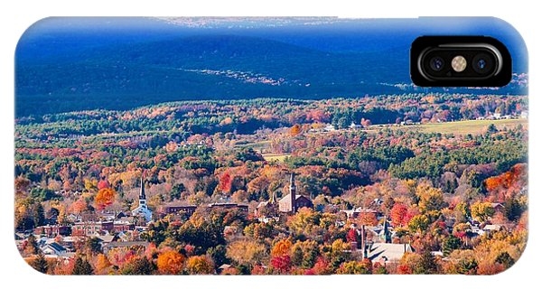 IPhone Case featuring the photograph Mountain View Of Easthampton, Ma by Sven Kielhorn
