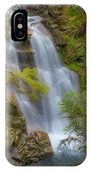 Mountain Waterfall 5613 IPhone Case