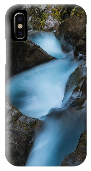 Mountain Waterfalls 5863 IPhone Case