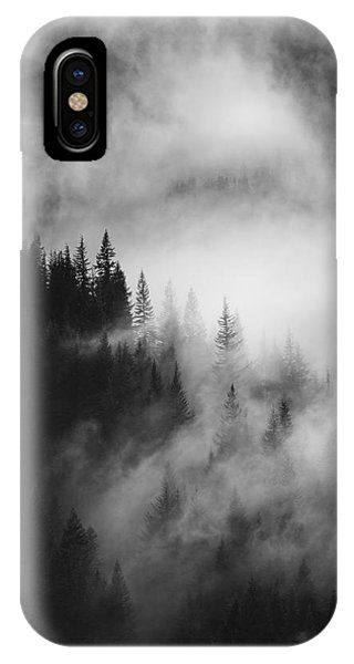 Outdoors iPhone Case - Mountain Whispers by Mike  Dawson