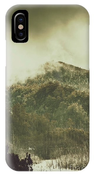 Mountainous iPhone Case - Mountain Wilderness by Jorgo Photography - Wall Art Gallery