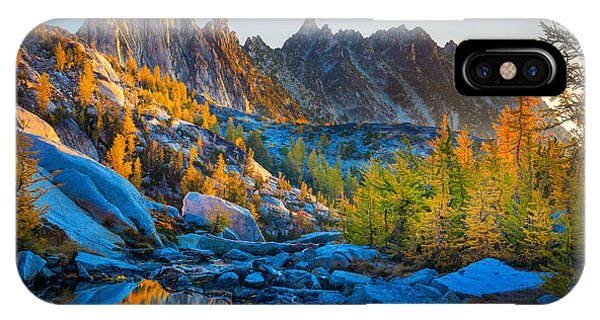 Mountainous Paradise IPhone Case