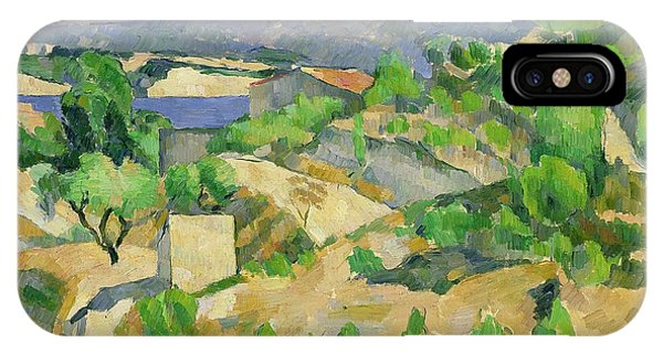 Hill iPhone Case - Mountains In Provence by Paul Cezanne