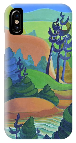 Hills In Spring IPhone Case