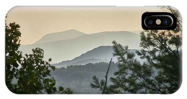 IPhone Case featuring the photograph Mountains In The Distance by Willard Killough III