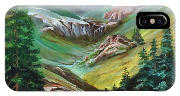 Mountains Of Color IPhone Case