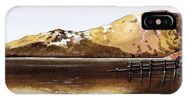 iPhone Case - Mountains On Crummock Water by Paul Dene Marlor
