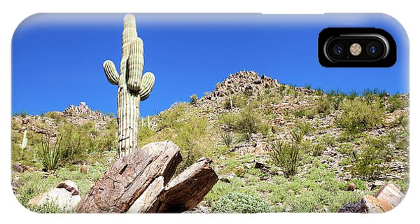 Mountainside Cactus 2 IPhone Case