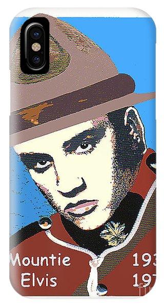 Mountie Elvis IPhone Case