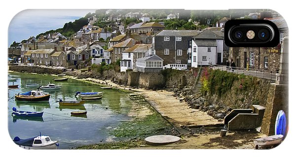 Mousehole Harbour, Cornwall IPhone Case