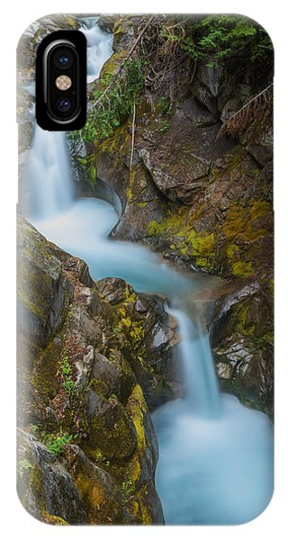Moutain Waterfalls 5857 IPhone Case