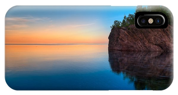 Superior iPhone Case - Mouth Of The Baptism River Minnesota by Steve Gadomski
