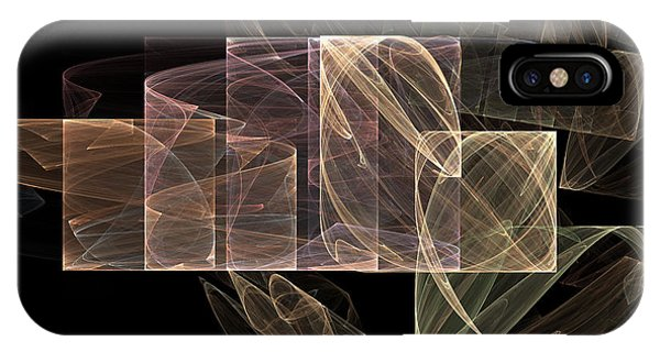 IPhone Case featuring the digital art Movement And Light by Sandra Bauser Digital Art