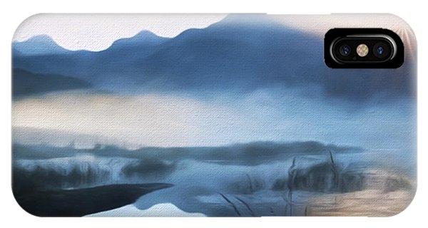 Moving Forward - Inspirational Art IPhone Case