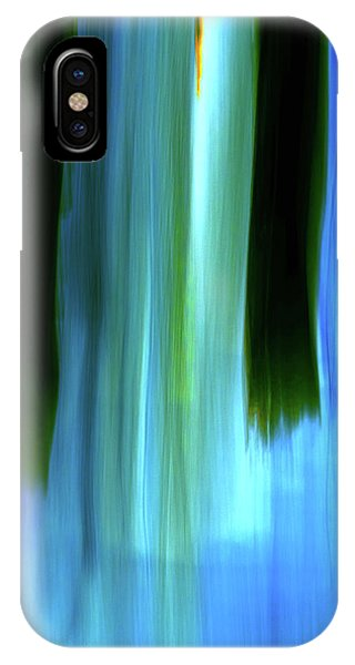 Moving Trees 37-05 Portrait Format IPhone Case