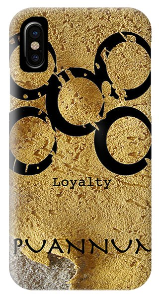 Mpuannum Adinkra Symbol IPhone Case