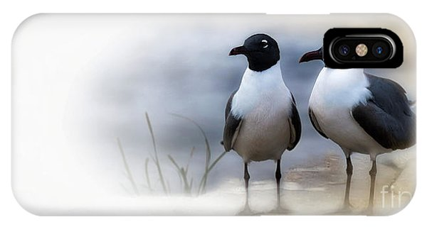 Mr And Mrs Laughing Gull IPhone Case