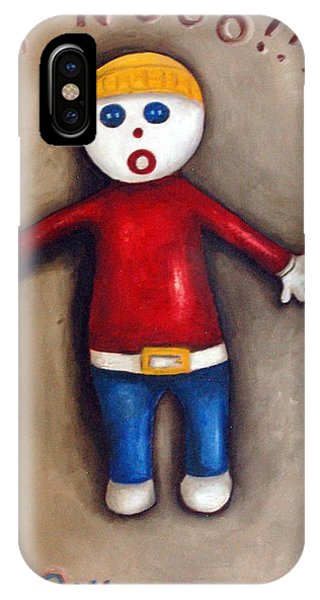 Mr. Bill IPhone Case