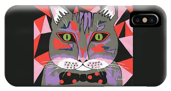 Mr Cat IPhone Case