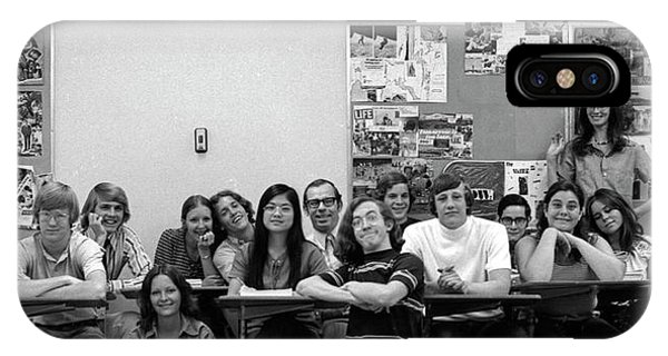 Mr Clay's Ap English Class - Cropped IPhone Case