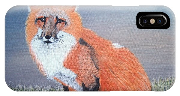 Mr. Fox IPhone Case