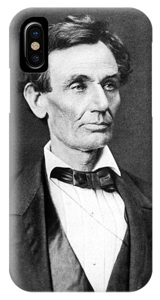Abraham Lincoln iPhone Case - Mr. Lincoln by War Is Hell Store