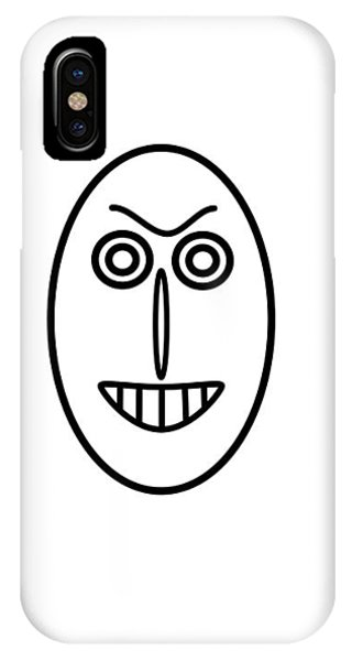 Mr Mf Has A False Smile IPhone Case