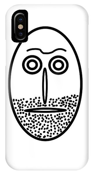 Mr. Mf Is An Unshaved Macho IPhone Case