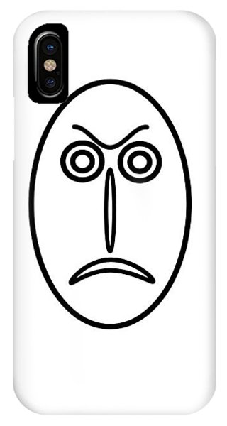 Mr Mf Is Angry IPhone Case