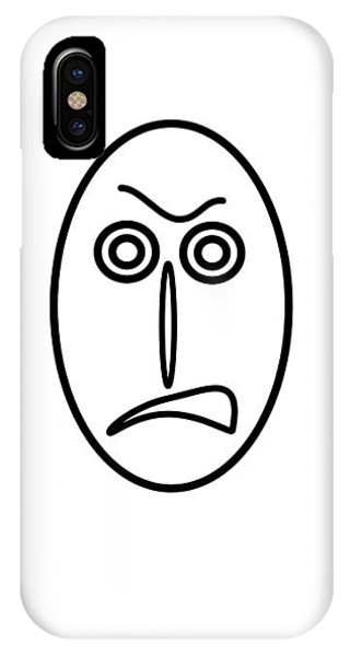 Mr Mf Is Very Angry IPhone Case