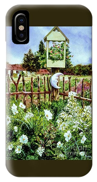 Mr Moon's Garden IPhone Case