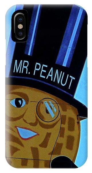 Mr Peanut 2 IPhone Case