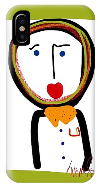 Mr. Tidy Boy IPhone Case