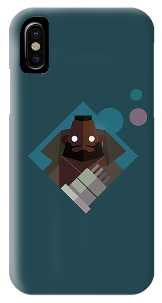 Mr. Wallace IPhone Case